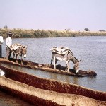 Zaria River Ferry by Jeanne Tabachnick via Africa Focus