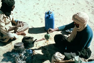 Tuareg Tea by Jeanne Tabachnick, via Africa Focus